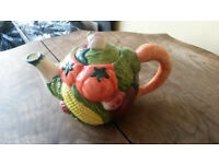 Novelty Vegetable Teapot