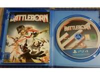 Ps4 games fallout4 and battleborn both for 20.00
