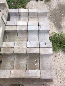 Concrete chimney blocks