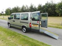 2010 Renault Master 2.5 dci 6 SEATS ONLY 40K Wheelchair Accessible Vehicle WAV