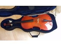 Hudson Cello Size 1/2 (with hard case) **CHEAP, DON'T MISS OUT**