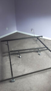 Steel bed frame - king or queen