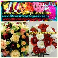 FLOWERS+CAKES +DJ+DECORS+ PHOTOGRAPHY in Budget WEDDING+EVENTS