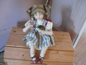 FOR SALE PORCELAIN DOLL