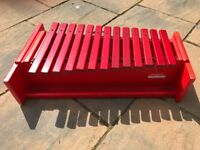 Percussion Plus Alto xylophone in very good condition with F# and Bb bars