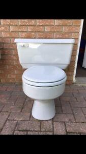 Free grey toilet