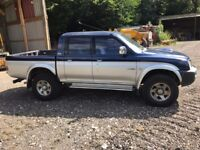 Mitsubishi L200 4 life 4x4 double cab pick up