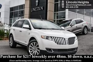 2011 Lincoln MKX AWD - LEATHER - BLUETOOTH - NAV - MOONROOF