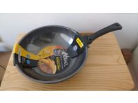 Korean King pan. Marble coating for excellent non-stick quality. 28 cm diameter. Collection only.