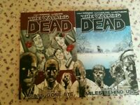 2 The Walking Dead graphic novels 1 and 2