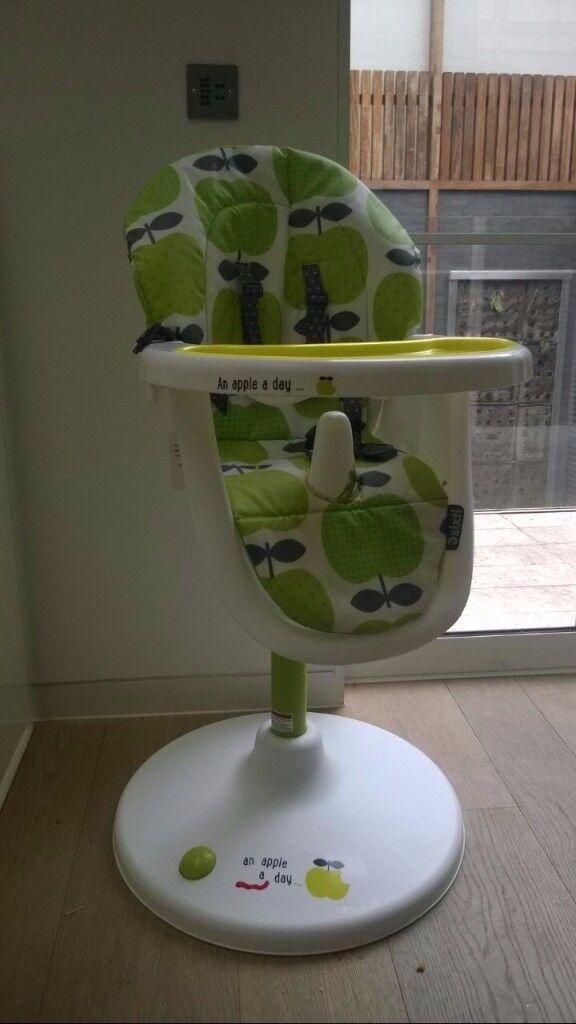 Cosatto 3sixti2 highchair hapi apples 2