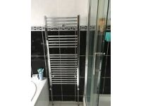 Next To New Luxury Chrome Towel Radiator - 110 x 50