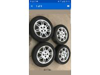 1995 - 1999 Rover 400 Alloys with Tyres 185 55 R15 82H
