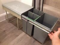 PULL OUT WASTE BIN (base mounted 40 ltrs) (won't fit my kitchen)