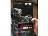 AMD Radeon RX480 Nitro + 8gb