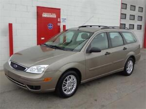 2005 Ford Focus SES Wagon ~ 84,000km ~ Leather ~ $5999