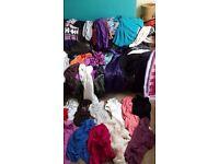 45 women's girls dresses, jumpers, vests, tops, cardigans clothes bundle