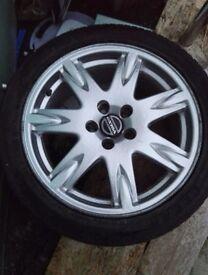 Volvo S60 Alloy & Tyre