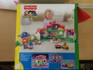 Fisher price Little people Sweet sound house