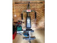 York 925 multi gym and extras