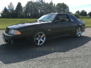 1992 Ford Mustang GT supercharged