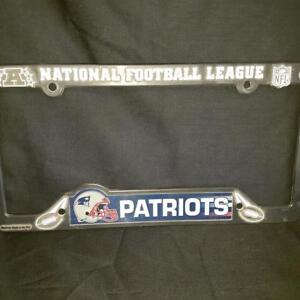 NFL New England Patriots licence plate frame