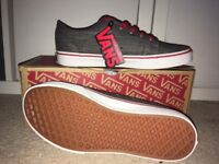 Vans trainers, size 5, brand new
