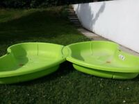 Sand pit / paddling pool