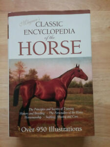 Magna's Encyclopedia of the HORSE. HARDCOVER. NEW