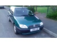 Citroen Saxo in very good condition with private plates