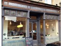 Barista / Front of House Assistance wanted for Printworks Coffee