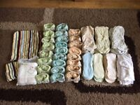 Huge selection of cloth nappies