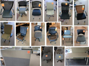 OFFICE FURNITURE SPRING SALE - NAME YOUR PRICE