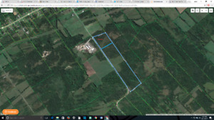 10 Acre building lot, to be severed on Fitchett road, Napanee!