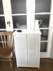 VINTAGE WICKER CHEST FREE DELIVERY LDN🇬🇧bathroom/hallway
