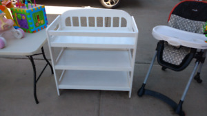 White change table for sale