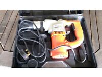 SDS Electric Rotary Hammer Drill - 1000W, 230V, 50Hz - hardly used