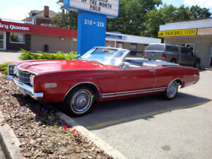 1968 MERCURY MONTEGO MX CONVERTIBLE    2ND OWNER