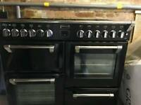 Stoves Richmond 1000DF seven burner gas hob and oven unit