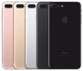 new Apple iPhone 7 32GB, 128GB SIM FREE/ UNLOCKED - Black, Gold, red