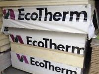120mm EcoTherm Celotex Rigid PIR Insulation - BRAND NEW - RRP £60 per sheet