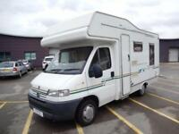 Elddis Autoquest 400 RL 2002 4 Berth Rear Lounge Motorhome DEPOSIT TAKEN