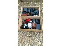 Joblot of cameras + equipment