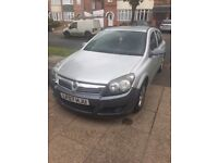 Silver Vauxhall Astra 1.4 2007