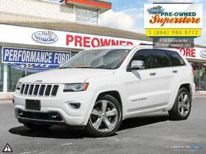 2014 Jeep Grand Cherokee Overland***DIESEL!/NAV/LEATHER***