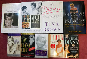 Books - Lady Diana & Dan Brown