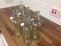 40 Grolsch bottles