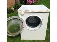 Whirlpool compact tumble dryer up to 3.0kg load with removable fluff filter