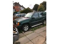 Top of the range Jeep Grand Cherokee Orvis, has been registered Sorn and not used since 31/08/09.