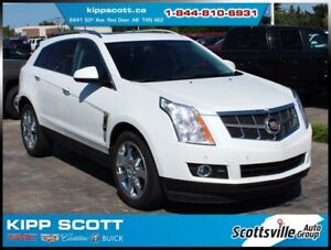 2012 Cadillac SRX Premium AWD, Leather, Nav, Sunroof, Loaded!